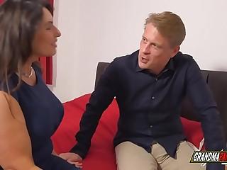 gilf with massive boobs