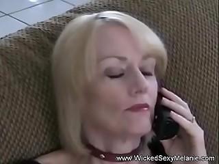 Granny Gives Sloppy BJ