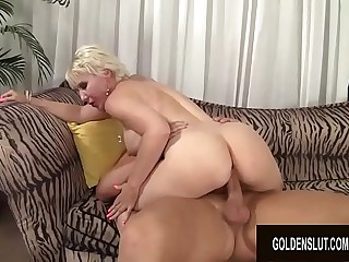 Flawless Figure GILF Dalny Marga Gorges Herself on Hard Cock