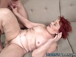 Banging and blowing gran