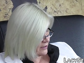 Lacey Starr joins bisexual threesome hardcore oral and invasion