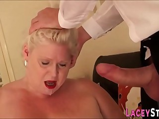 Dominated british granny
