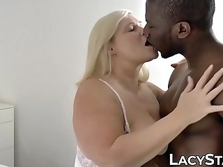 British succubus Lacey Starr inseminated with BBC