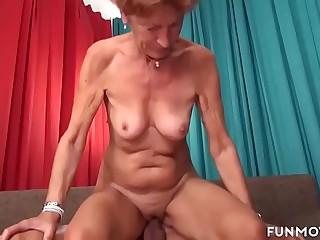 Grandma in a nice fuck