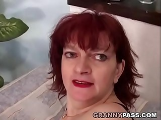 Redhead Granny Can'_t Wait For Anal invasion With Young Cock