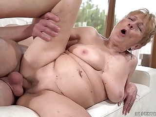 Malya still hungry for younger cock