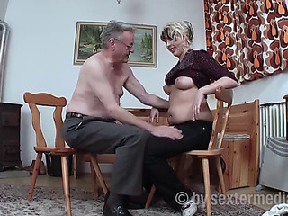 Old granddad bonks the neighbour