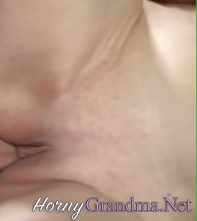 Old granny deep throating and riding