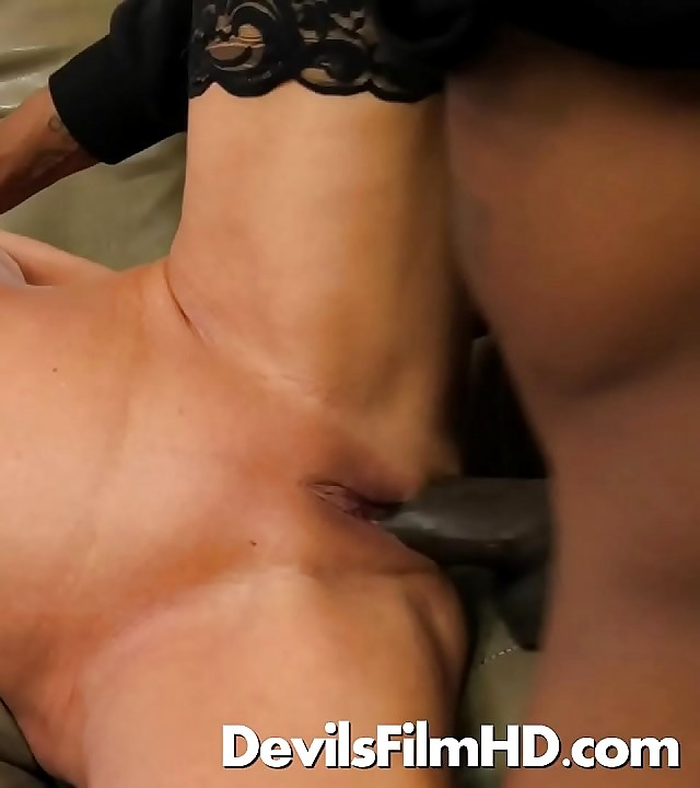 Old blond Payton Hall fucked by a BBC