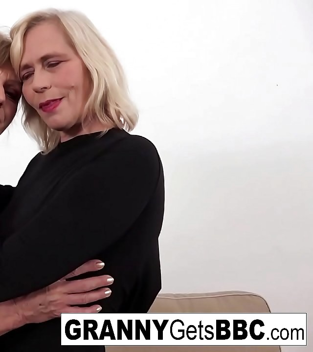 A couple of nasty grannies get bitchy in the ass by BBC