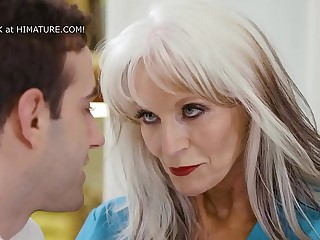 65yo Psychiotherapist Works On A Young Dude  Sally D'_Angelo