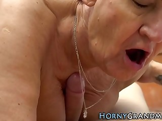 Grandmother rails masseur