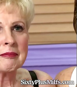 Two Old Sluts Chat With the Cameraman