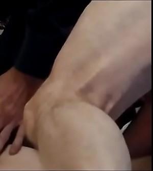 Old guy licks,sucks and nails granny