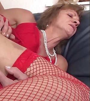 real first time anal fuck for 85 years old granny