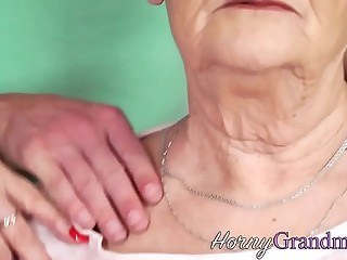 Pussy licked grandmother